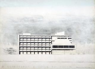 "Prof. Oomment T, ""A Corporation Building for Cochin"", B.Arch Thesis 1969; Part 2"